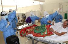 Hospital de Jaén: La música como terapia para pacientes covid