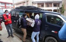 Material electoral se distribuye en distritos de Chota y Cutervo con normalidad