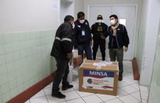 Cajamarca recibe 19,890 dosis de vacuna Pfizer contra la Covid