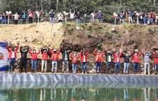 Cosecha del agua: Alcalde Villar inaugura reservorio en Cospán