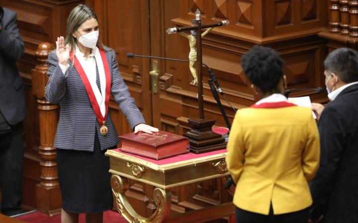 María del Carmen Alva fue electa presidenta del Congreso el periodo 2021-2022