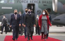 Llega vicepresidente brasileño para asunción de mando de Pedro Castillo