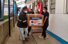 Cajamarca recibe 26 mil vacunas Pfizer para fortalecer inmunización contra la Covid