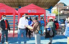 35 toneladas de alimentos son distribuidas por la Municipalidad de Cajamarca y Qali Warma a adultos mayores y personas vulnerables