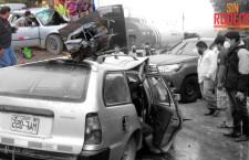 Chilete: Dos muertos en accidente