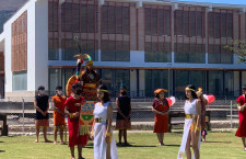 Con saludo inca Baños del Inca rinde homenaje al Bicentenario de la Independencia