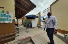 """Director de Red de Salud supervisa obras de mejoras en establecimiento de """"Pachacutec"""""""