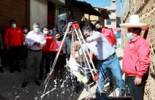 Alcalde Villar inaugura obras en el marco del bicentenario patrio