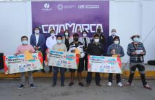 Jhonny Damián y Wilder Limay ganaron concurso Murales del Bicentenario en 72 horas de competencia