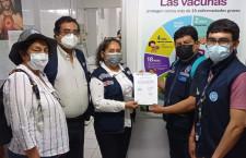 Cajamarca recibe 147 mil vacunas más contra la Covid-19 donadas por la República de Ecuador