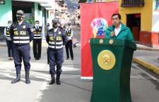 Alfonso Chávarri visita Cajamarca y reconoce avances en materia de seguridad ciudadana