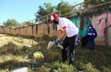 Alcalde Andrés Villar participó en jornada de limpieza de quebrada Los Chilcos