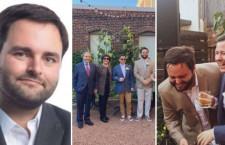 Ex congresista Alberto de Belaunde se casó con su novio en Estados Unidos
