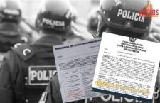 Policía retorna a la unidad donde fue sancionado por Inspectoría