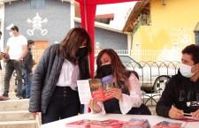 Orientan a vecinos del barrio San Pedro para cuidado del Patrimonio Cultural