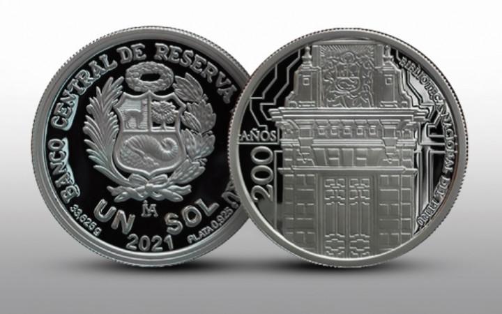 BCR lanza moneda conmemorativa por los 200 años de creación de la BNP