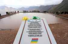 Gobierno Regional asegura 1 millón 500 mil metros cúbicos de agua con la construcción de qochas y reservorios