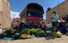 Comercio informal de Mollepampa es un grave riesgo para la salud