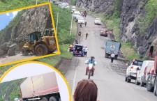 Derrumbes en la ruta San Ignacio: Salto del Tigre
