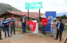 Alcalde de Cajamarca inaugura trocha carrozable que une El Cumbe con San Vicente