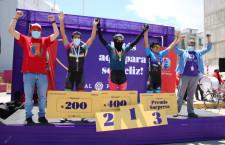 Samuel Condori ganó en la Bicicleteada 26 K Bicentenario