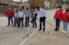 Inauguran obra de pavimentación en jirón Alfonso Ugarte